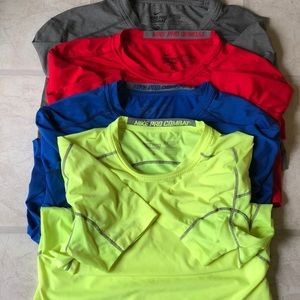 Men's Nike Pro Combat Fitted Shirts